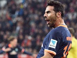 Hoffnungstr�ger Pizarro befreit sich und Werder