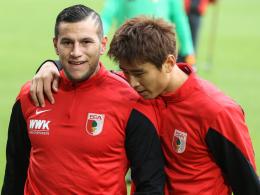 Zwei von Fünf auf Länderspielreise: Raul Bobadilla und Ja-Cheol Koo.