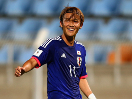 Bald wieder in der Bundesliga? Takashi Usami von Gamba Osaka.