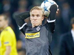 Der Gladbacher Linksverteidiger Oscar Wendt.