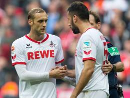 Gutes Duo beim FC: Marcel Risse und Dominik Maroh.
