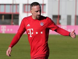 Arbeitet sich langsam zurück: Franck Ribery.