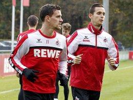 Zoller und Olkowski wieder im Training
