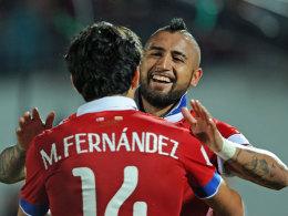 Guardiolas banger Blick gilt vor allem Vidal und Costa