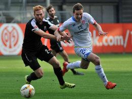 Gaetan Bussmann im Test gegen Sandhausen