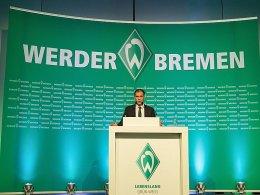 Erzielte mit Werder einen Umsatz von 103,6 Millionen Euro: Klubchef Klaus Filbry.