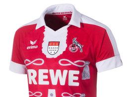 Das Karneval-Sondertrikot des 1. FC Köln