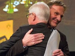 Zwei Dortmunder Macher, die sich verstehen: Geschäftsführer Hans-Joachim Watzke und Präsident Dr. Reinhard Rauball.