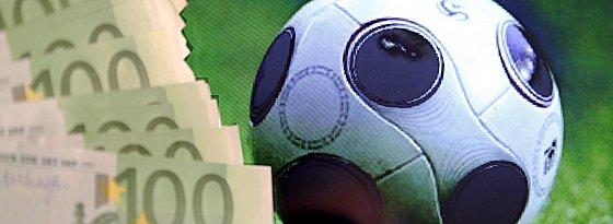 Geld im Fußballsport