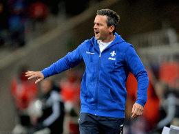 Will den Auftritt seiner Elf in Ingolstadt hinter sich lassen: Darmstadts Coach Dirk Schuster.