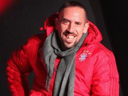 Gut gelaunt beim Sponsorentermin in München am Mittwochabend: Franck Ribery.