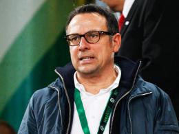 Schlimmstenfalls würde man in Hannover bleiben: 96-Geschäftsführer Sport Martin Bader.