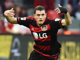 Wiedersehen mit dem Ex-Klub: Leverkusens Innenverteidiger Kyriakos Papadopoulos.