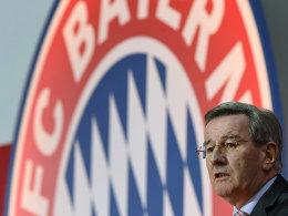 Hält Beckenbauer die Treue: FCB-Präsident Karl Hopfner.