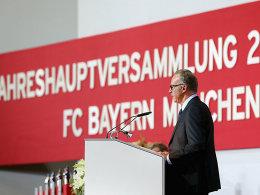 Er will mehr vom TV-Kuchen abhaben: Bayerns Vorstandsvorsitzender Karl-Heinz Rummenigge.