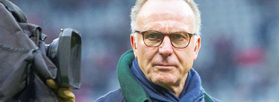 Hat eine klare Meinung zur Verteilung der TV-Gelder: Bayern-Boss Karl-Heinz Rummenigge.