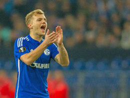 Schalkes Stabilisator Johannes Geis.