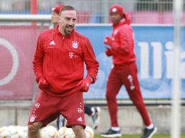 Kann endlich wieder mit der Mannschaft trainieren: Franck Ribery.