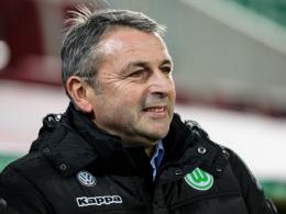 """""""Wir sind froh, ein bisschen helfen zu können"""": Wolfsburgs Manager Klaus Allofs."""