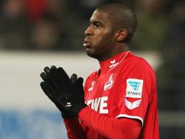 Gegen den FC Augsburg gesetzt: Kölns Angreifer Antony Modeste.
