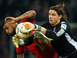 Arturo Vidal gegen Yann Sommer