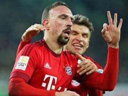 Veredelte seine Rückkehr mit einem Treffer: Bayern Münchens Dribbelkünstler Franck Ribery.