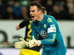 """""""Das darf uns nicht passieren"""": Wolfsburgs Torhüter Diego Benaglio nach dem 1:2 gegen Dortmund."""