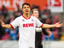 Selbstkritisch: Kölns österreichischer Angreifer Philipp Hosiner hat Ladehemmung.