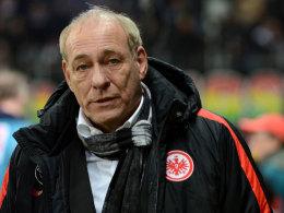 Eintracht-Präsident Peter Fischer beim Derby gegen Darmstadt