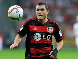 Bereit für einen Einsatz in der Champions League: Leverkusens Innenverteidiger Papadopoulos.