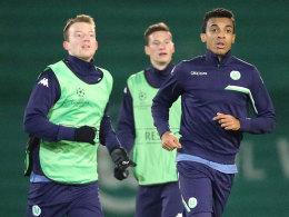 Arnold, Draxler und Gustavo