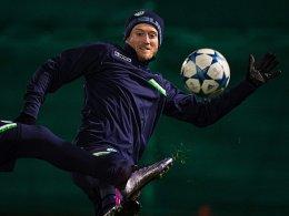 Keine Angst vor Manchester United: André Schürrle.