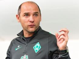 """""""Ich bin Werderaner seit 20 Jahren, das ist eben so"""", begründet Trainer Viktor Skripnik seine besondere Emotionalität."""