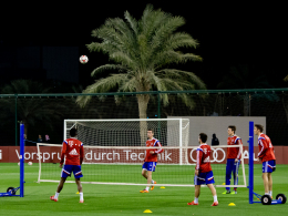 FC Bayern München Winter-Trainingslager Katar Doha