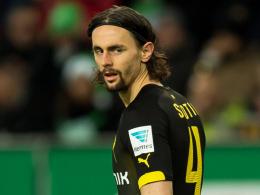 """""""Ich bleibe hart dran und lege mich wie gewohnt ins Zeug"""": Dortmunds Verteidiger Neven Subotic."""