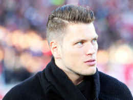 Will bald in leichtes Lauftraining einsteigen: Stuttgarts verletzter Angreifer Daniel Ginczek.
