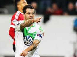 Erster Königsklassentreffer im VfL-Dress: Wolfsburgs Vieirinha.