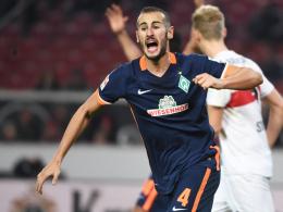 """""""Ich hatte mit einer schwierigen Saison gerechnet"""": Werder Bremens Alejandro Galvez."""