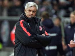 """""""Das geht so nicht, das hat mir den Rest gegeben"""": Frankfurts Trainer Armin Veh zürnte."""