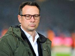 Hannovers Geschäftsführer Sport Martin Bader