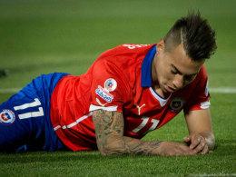 Stinkefinger: FIFA ermittelt gegen Vargas