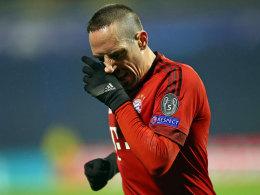 Wieder verletzt! Hinrundenaus f�r Ribery und Benatia