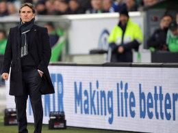War mit der ersten Halbzeit in Wolfsburg durchaus zufrieden: HSV-Coach Bruno Labbadia.
