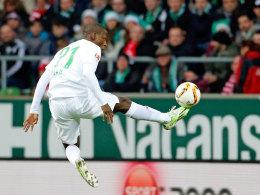 Bremens Stürmer Anthony Ujah.