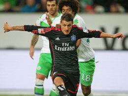 Hamburgs Offensivspieler Ivo Ilicevic.