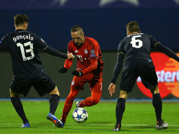 Muskelb�ndelriss: Acht Wochen Pause f�r Ribery