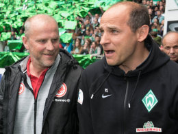 Thomas Schaaf und Viktor Skripnik