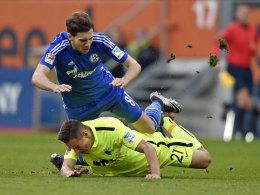 Schlag auf den Fuß: Der Schalker Leon Goretzka fehlt sehr wahrscheinlich gegen Hoffenheim.