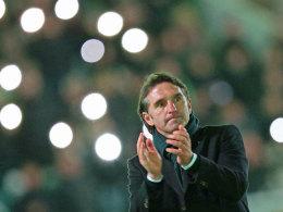 Ausgezeichneter Trainer, aber noch nicht in Feierstimmung: HSV-Coach Bruno Labbadia.