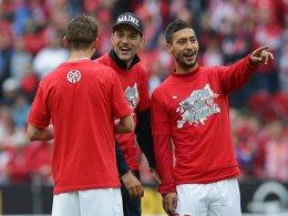 Malik Fathi hat auch Thomas Tuchel beim 1. FSV Mainz 05 erlebt (noch im Bild: Niko Bungert).